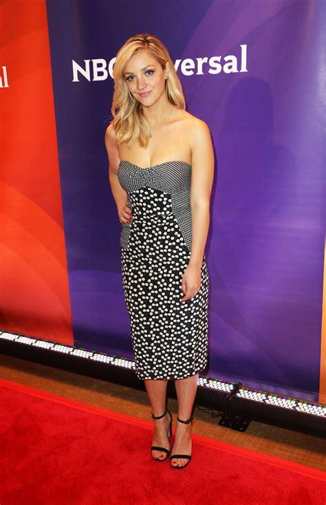 ABBY ELLIOTT at NBC Summer Press Day in New York – HawtCelebs