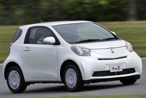 Smallest Toyota Car toyota iq the smallest four passenger car in the world