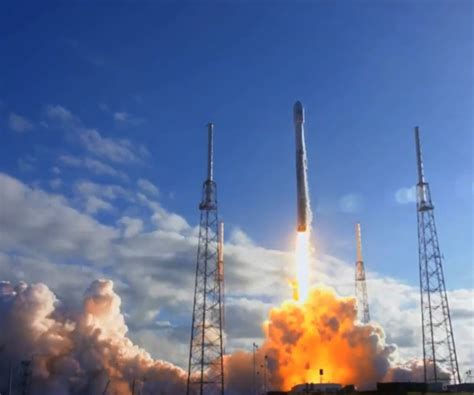 Satellite Launched Aboard Spacex Falcon 9