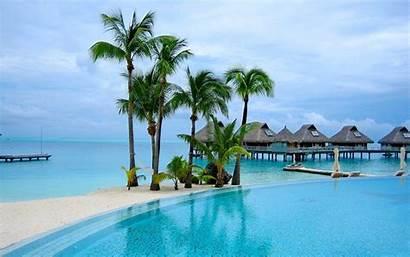 Tropical Resort Wallpapers Resolution Desktop Wallpapersafari Island