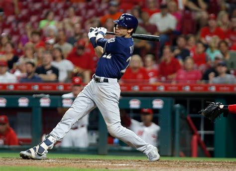 Christian Yelich Goes 6-for-6 With A Cycle To Lead Brewers
