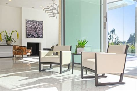 sleek beauty  modern terrazzo floors