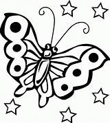 Butterfly Coloring Pages Printable Butterflies Sheets Colouring Print Children Printables Childrens Fun Animals Animales sketch template