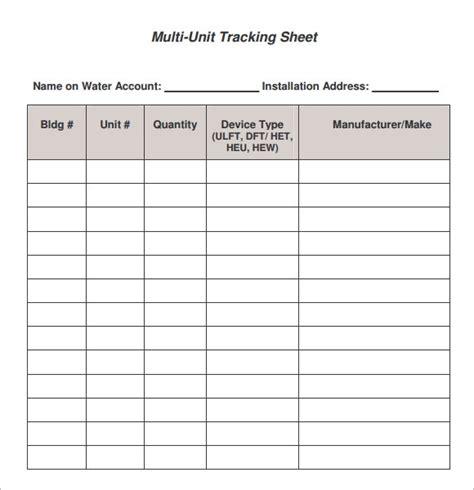 sample editable tracking sheets  google docs