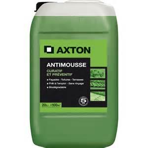 Anti Mousse Terrasse Beton by Antimousse Axton Pr 234 T 224 L Emploi 20 L Leroy Merlin