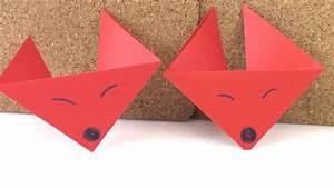 Fuchs Kostüm Selber Machen : origami fuchs deutsch anleitung zum selber machen fuchs falten diy ~ Frokenaadalensverden.com Haus und Dekorationen