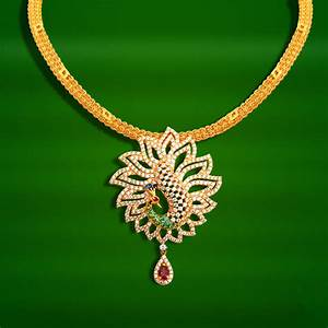 20 Grams Gold Necklace Designs in GRT Jewellers ~ South ...