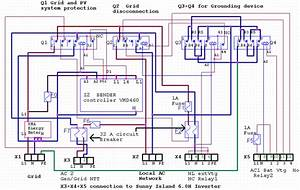 Schematic Diagram Of The Switching Box  Ns Protection