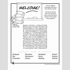 Back To School Worksheets  Woo! Jr Kids Activities