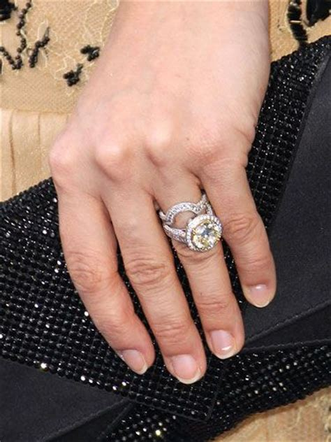 155 best images about celebrity engagement rings on