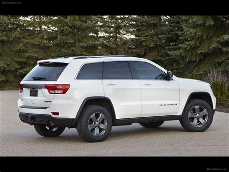 jeep grand cherokee trailhawk concept  exotic car