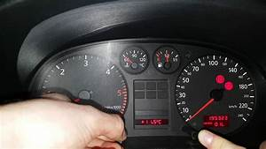How To Reset Service Inspection Light On Audi A3 8l 97