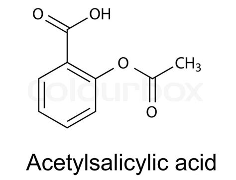 what is structural formula structural chemical formula of acetylsalicylic acid