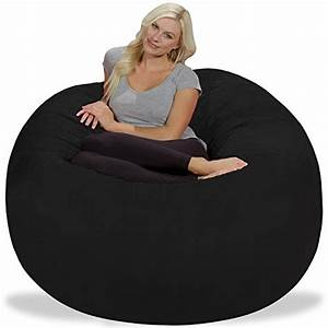chill sack bean bag chair giant 539 memory foam furniture With big soft bean bag chairs