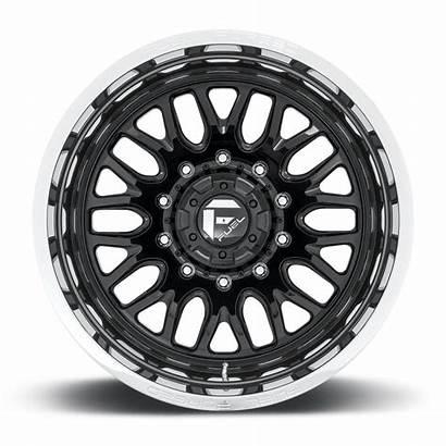 Wheels Dually Fuel Rear Lug Gloss Rims