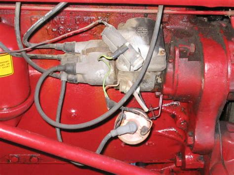 Farmall H Ignition Diagram by Magneto To Distributor Conversion Yesterday S Tractors