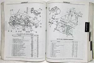1968-1978 Gm Factory Air Conditioning Parts List Book