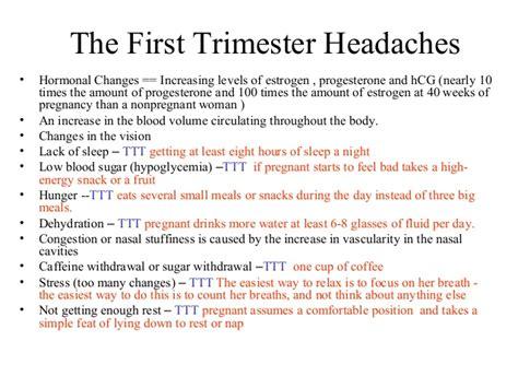 headache  pregnancy