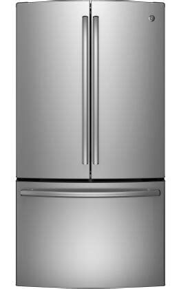 ge gnegshss   french door refrigerator   cu ft capacity  stainless steel