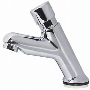 Robinet Pour Lavabo : eau froide robinet pilier pour lavabo automatique robinet ~ Edinachiropracticcenter.com Idées de Décoration
