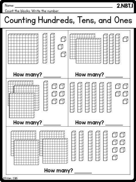 tens   worksheets ideas  pinterest