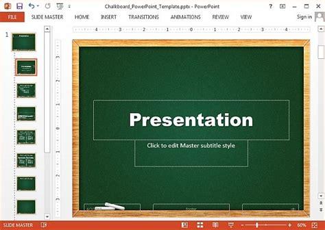 chalkboard powerpoint template  chalkboard powerpoint