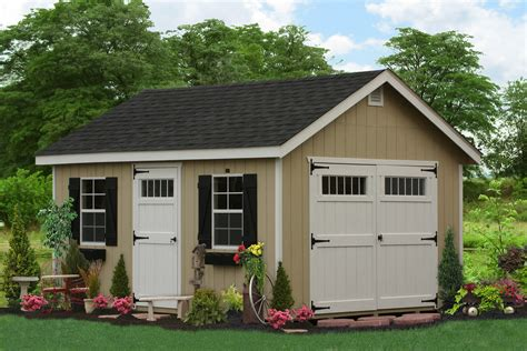 Garage Storage Shed by Buy Classic Wooden Storage Sheds In Lancaster Pa