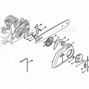 Stihl 025 Parts Diagram