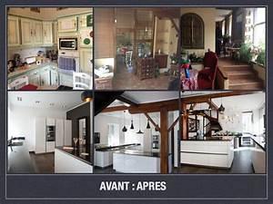 avant apres projet de decoration et d39amenagement d39espace With meubles de rangement salon 1 1001 astuces comment amenager une cuisine en longueur