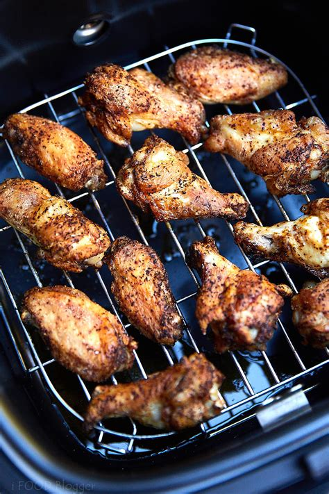 fryer chicken wings air crispy extra fry cooking temperature ifoodblogger recipes wing food way healthy easy