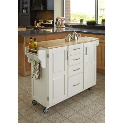 kitchen island with garbage bin white mobile island cabin in the woods