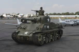 World War 2 American Sherman Tanks
