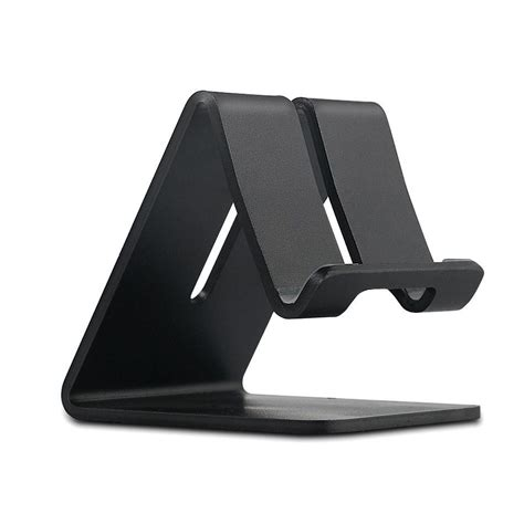 iphone 6 desk stand universal aluminum mobile phone tablet desk holder stand