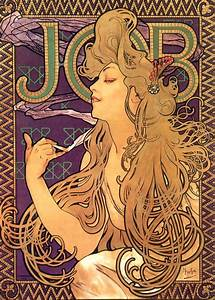 File:Alphonse Mucha - Job Cigarettes 1.jpg - Wikimedia Commons