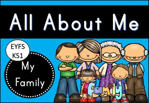 All About Me  My Family (emergent Readers And Writers  Eyfsks1) By Pollypuddleduck Teaching