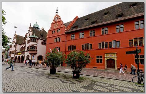 Rathaus In Freiburg by Het Zuiden Het Zwarte Woud In Duitsland
