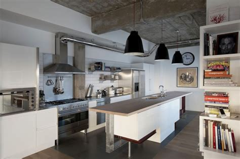cuisine de loft 21 idées de cuisine pour votre loft