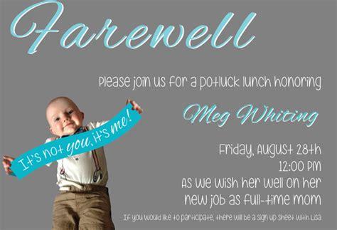 farewell invitation templates psd eps ai