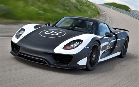 Porsche 918 Spyder Race Track Package To Include No-paint