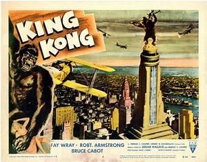 The Geeky Nerfherder: Movie Poster Art: King Kong (1933)