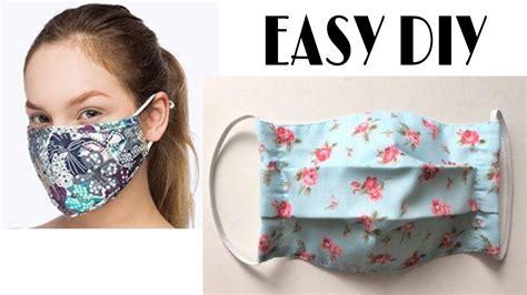 medical face mask  filter pocket diy