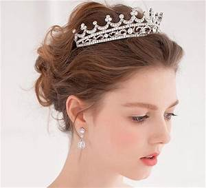 Stylish Wedding Hair Crown For A Queen Hairstyle On Your