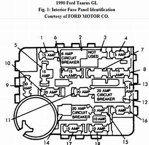 solved fuse box diagram fixya With ford taurus fuse box diagram on 1987 ford taurus fuse box diagram