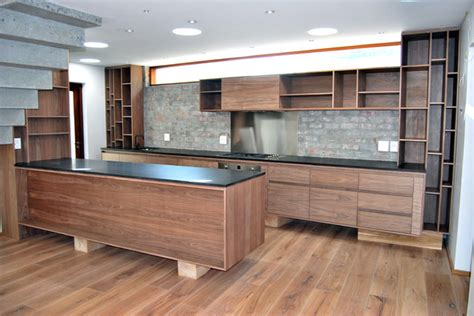 natural walnut kitchen cabinets natural walnut kitchen contemporary kitchen by