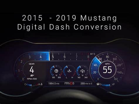 hellhorse performance   mustang digital dash plug