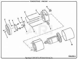 Homelite Ps9c3501 Powerstroke 3 500 Watt Generator Parts