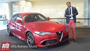Alfa Romeo Giulia Quadrifoglio Occasion : 2015 alfa romeo giulia quadrifoglio 510 ch pr sentation automoto youtube ~ Gottalentnigeria.com Avis de Voitures