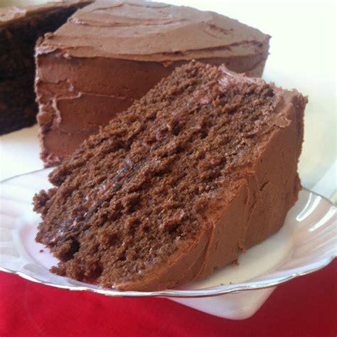 chocolate cake  chocolate buttercream frosting jem