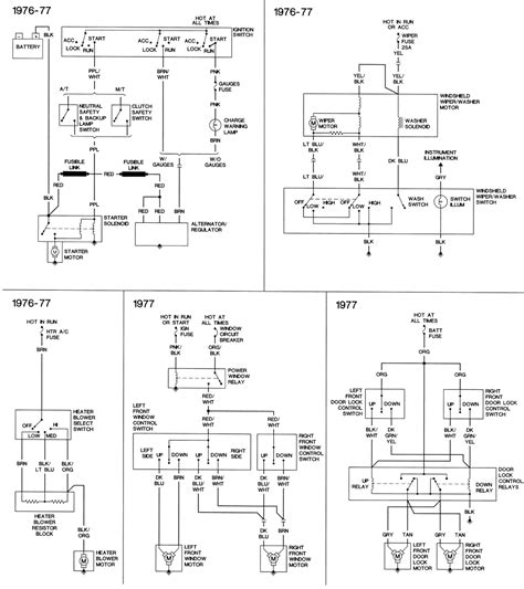 1975 Chevy Blazer Wiring Diagram by Repair Guides Wiring Diagrams Wiring Diagrams