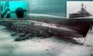 A sacrifice never forgotten: Battleship wreck torpedoed by ...